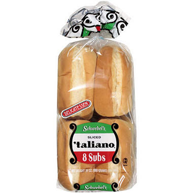 Schwebel's® Sliced 'taliano® Subs - 8ct