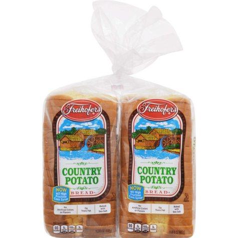 Freihofer's Country Potato Bread (48 oz., 2 pk.)