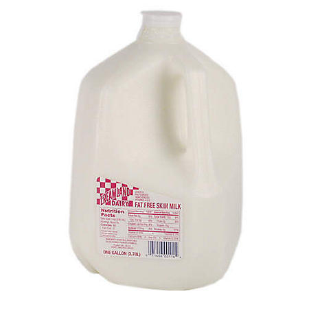 Creamland Dairy Fat Free Skim Milk (1 gallon)