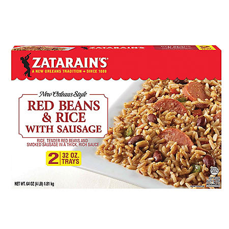 Zatarain's Red Beans and Rice with Sausage (2 pk., 64 oz.)