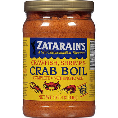 Zatarain's Crawfish, Shrimp & Crab Boil (4.5 lb.)