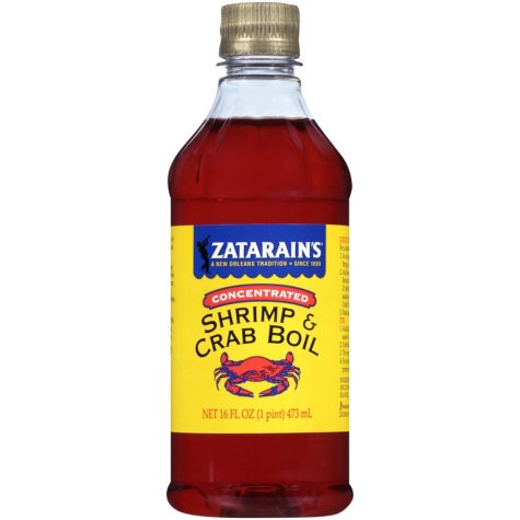 Zatarain's Concentrated Liquid Shrimp & Crab Boil (16 fl. oz.)
