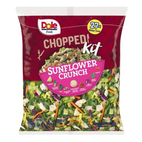Dole Chopped Sunflower Crunch Salad Kit (27.2 oz.)