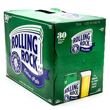 ROLLING ROCK 30 / 12 OZ CANS