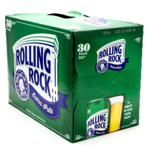 Rolling Rock Lager (12 fl. oz can, 30 pk.)
