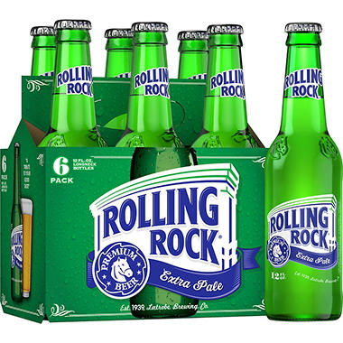 Rolling Rock Lager (12 fl. oz. bottle, 6 pk.)