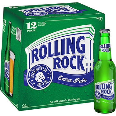 Rolling Rock Extra Pale Beer (12 fl. oz. bottle, 12 pk.)