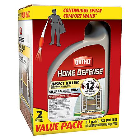 Ortho Home Defense Max Wand (2 pack, 1 gal. each)