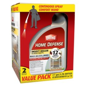 Ortho Home Defense Max Wand (2 pack, 1 gal. each)