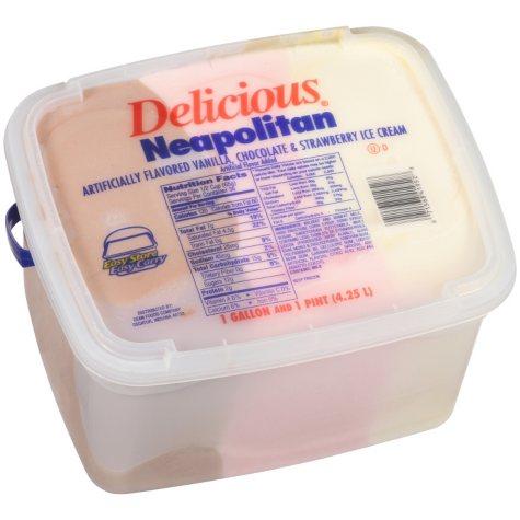 Dean's Neapolitan Ice Cream - 1.125 gal.