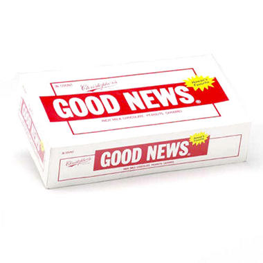Good News Chocolate Bar - 1.75 oz. - 36 ct.