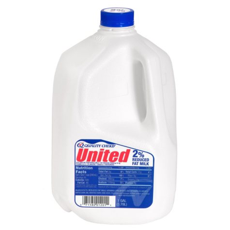 United Dairy Whole Milk  (1 gal.)