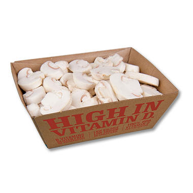 Sliced White Mushrooms (16 oz.)