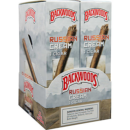 Backwoods Russian Cream Cigar (1 pkg., 24 ct.)