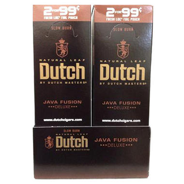 Dutch Masters Cigarillos Java Fusion (30 ct., 2 pk.)
