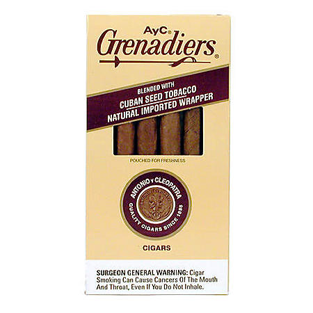 Antonio y Cleopatra Grenadiers Dark Cigars (5 pk., 6 ct.)