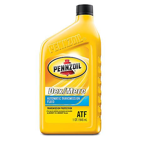 Pennzoil Dex/MERC Automatic Transmission Fluid (6-pack / 1-quart Bottles)