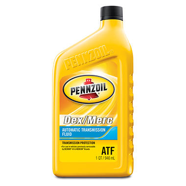 Pennzoil Dex/MERC Automatic Transmission Fluid (6-pack / 1-quart Bottles)