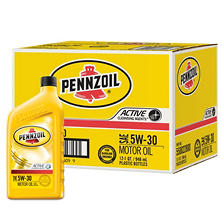 Pennzoil 5W-30 Motor Oil (12-pack / 1-quart Bottles)