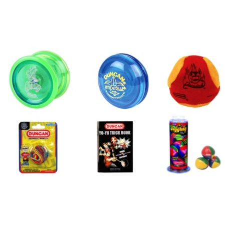 Duncan Beginner Yo-Yo & Skill Toy Set - 6 pc.