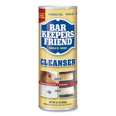 Bar Keepers Friend Cleanser & Polish - 21 oz. - 3 pk.