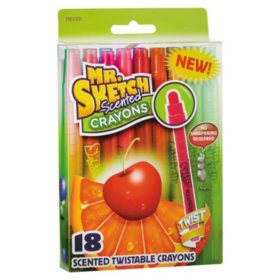 Mr. Sketch Scented Gel Crayons, Assorted Colors (18 ct.)