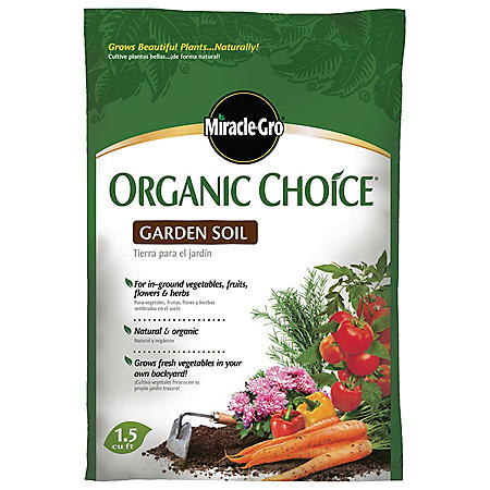 Miracle-Gro Organic Choice All Purpose Garden Soil