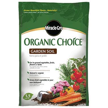Miracle Gro Organic Choice All Purpose Garden Soil Sam 39 S Club
