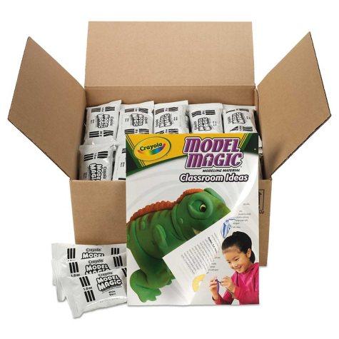 Crayola Model Magic Modeling Compound, 1 oz. each packet, White -  75 oz.