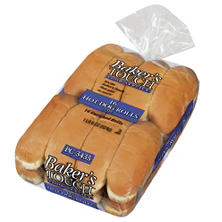 Baker's Touch Hot Dog Rolls (16 ct.)