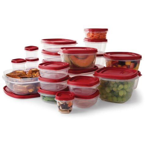 Rubbermaid 50-Piece Easy Find Lids Food Storage Set
