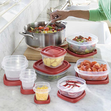 Rubbermaid 50 Piece Easy Find Lids Food Storage Set