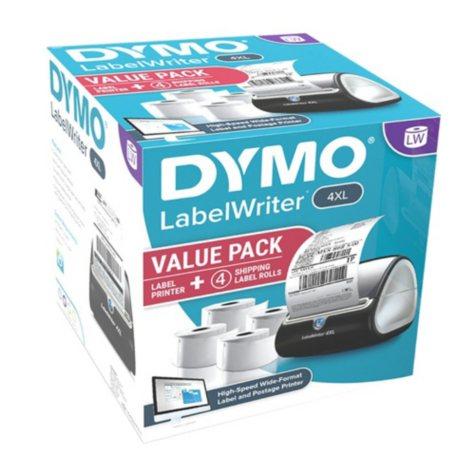 "DYMO 4XL LabelWriter Label Printer Bundle Pack, 4"" x 6"" Labels (4 Rolls)"