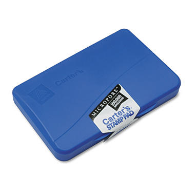 Avery Carters Micropore Stamp Pad - Blue Ink