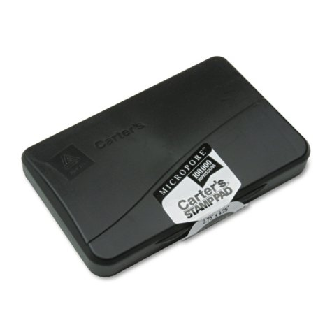 Avery Carters Micropore Stamp Pad - Black Ink