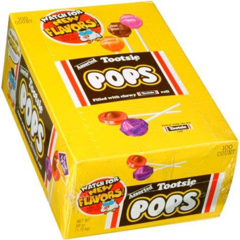 Tootsie Pops (60 oz., 100 ct.)