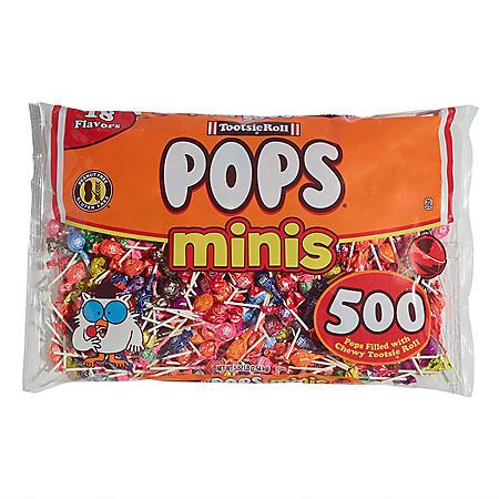 Tootsie Pops Minis (500 ct.)
