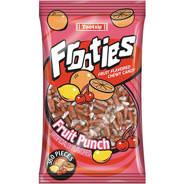 Frooties Fruit Punch Chewy Candy - 360 ct.