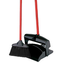 Libman Upright Dust Pan & Lobby Broom