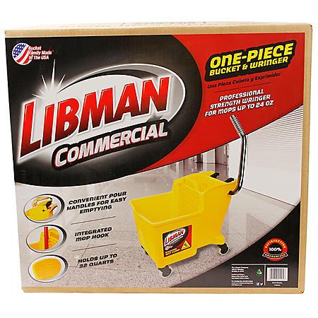 Libman Mop Bucket & Wringer (32 QT.)