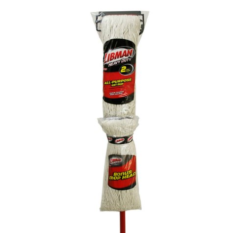 Libman Wet Mop Kit with Bonus Refill