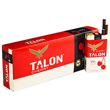 Talon Cherry Filtered Cigars (20 ct., 10 pk.)