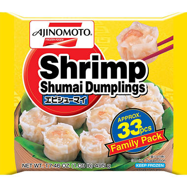 Ajinomoto Shrimp Shumai Dumplings (17.46 oz.)