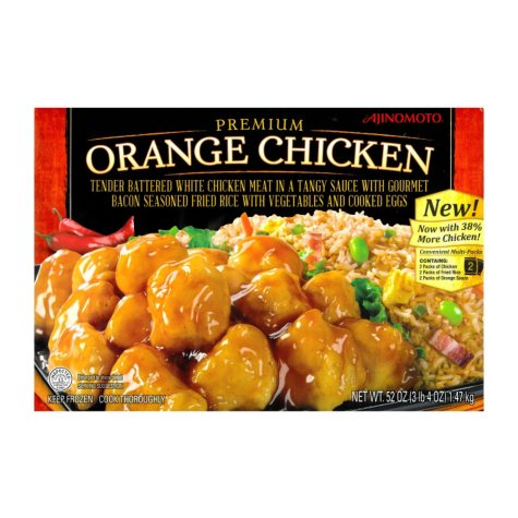 Ajinomoto Premium Orange Chicken with Gourmet Fried Rice (52 oz.)