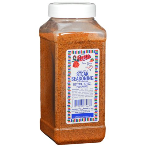 Fiesta Texas Style Steak Seasoning - 27 oz.