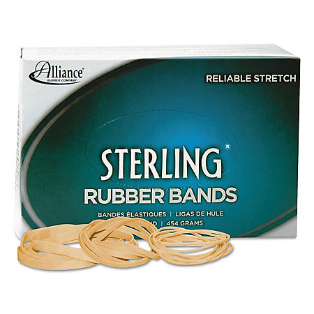 Alliance - Sterling Rubber Bands, #19, 1lb - 1,700 Count