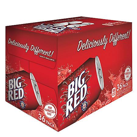 Big Red Soda (12 oz. cans, 36 ct.)