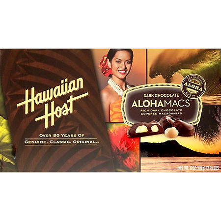 Hawaiian Host Dark Chocolate AlohaMacs (6 oz., 6 pk.)