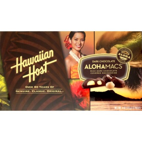 Hawaiian Host Dark Chocolate AlohaMacs (6 oz., 6 ct.)