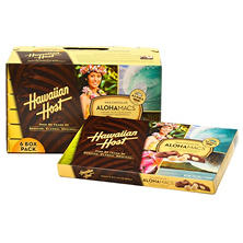 Hawaiian Host Chocolate Covered Macadamia Nuts - 7 oz. - 6 ct.